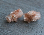 Raw Aragonite Set of 2 #4778