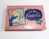 Vintage Jr. Miss Cosmetic Kit - Vintage Hasbro - Child Makeup Kit - Little Stars - NOS Hasbro