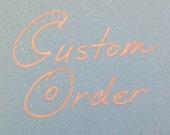 Custom order Mother/Daughter shirts