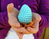 Crocheted Easter Egg / Hatched Chick