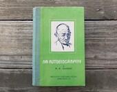 Vintage 1969 Gandhi Autobiography Book / An Autobiography by M.K. Gandhi / Gandhi Book
