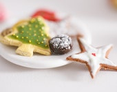 1/6th Scale Miniature Christmas Cookies