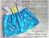 Queen Elsa Tunic Top