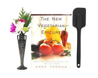 1996 New Vegetarian Epicure Anna Thomas Stated First Edition Healthy Meals Fresh Ingredients Local Food Vegan Dinners Slow Food