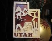 Utah Ornament