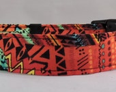 Dog Collar - Dog, Martingale or Cat Collar - All Sizes - African Sunset