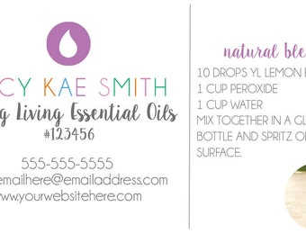 Customizable Business Cards (Young Living)
