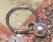 Kettle bell keychain