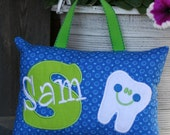 Boys Tooth Fairy Pillow - Personalized-Boutique Custom Made