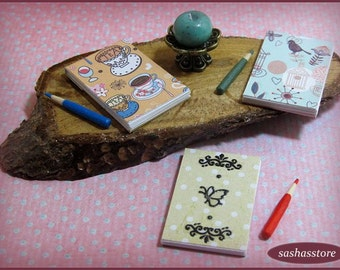 Writing Pad And Pencil For Dollhouse 12th Scale Miniature