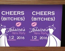 hens party stubby holder, hens party gift, bachelorette party, bachelorette party stubby holder, bridal party gift, bridal party drinks