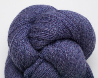Violet Storm Recycled Merino Lace Weight Yarn, 3533 Yards Available
