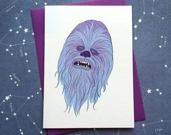 Chewie card