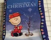 A Charlie Brown Christmas Fabric Book