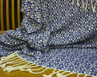 Timey-Whimey Tardis Blue Blanket