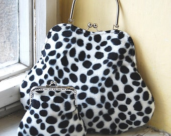 Handbag NOLA no.80 + purse Lily no.17