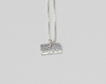 Tiny Kansas Necklace. Small Kansas State Jayhawk Outline Charm. I Heart Gold University of Kansas Home Pendant. Kansas City Art Necklace.