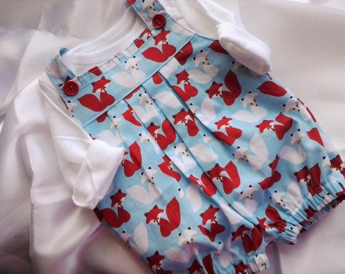 Newborn Baby Boys' Fox Romper set Take Me home outfit