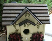 English Storybook Cottage Birdhouse