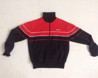 Vintage Adidas track jacket mans large