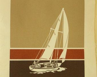 Vintage Traverse City Marüshka Print