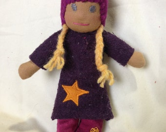 CLOTHING pattern for an 8 inch Waldorf pocket doll PDF pattern.