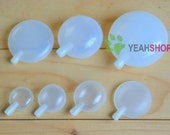 White Plastic Squeakers Noise Makers for Baby Toys and Dog Toys - 7 Sizes Available