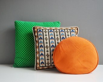 Vintage Decorative Pillow Collection - Fall Decor