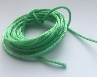 Summer Green Himmeli Hanging Cord