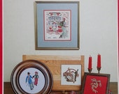 50%OFF Vintage Susan Stafford Helming A DICKENS Christmas By Helmsford Designs - Counted Cross Stitch Pattern Chart