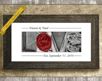 Wedding Gift, Anniversary Gift, Gift for Wife, 1st Anniversary Gift, Engagement Gift, Personalized Gift, Wedding Gift for Couples