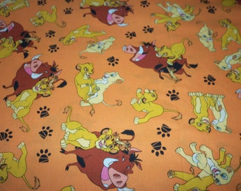 Lion King  Fabric Popular Disney Movie New By The Fat Quarter