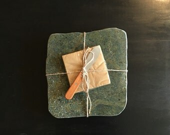Up-Cycled Granite Cheese Board