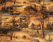 Sunset Lake Wilmington Fabric by South Seas Imports/Fabric by the Yard/Fabric by The Half Yard/Fat Quarter/PRICES VARY See Details