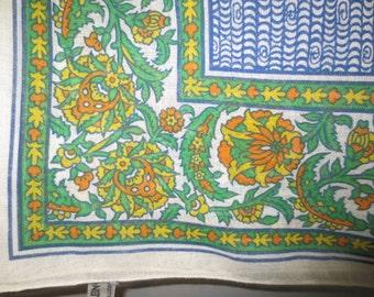 """Anne Klein Scarf // Large Wrap Shawl // Cotton // USA...44 X 54"""""""