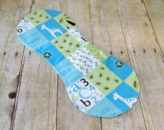 Flannel Burp Cloth - Baby Boy Gift - Boy Burp Cloths - Blue Burp Cloths - Baby Boy Shower Gift
