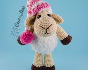 Chloe the Sheep Amigurumi - PDF Crochet Pattern - Instant Download - Amigurumi crochet Cuddy Stuff Plush