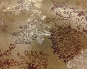 Woods, brown, fat quarter, pure cotton fabric