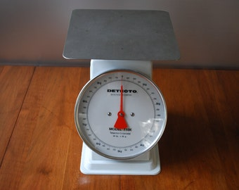 Vintage Detecto Scale - Portion Scale  - Model T10K - 10 kg, x 50 g. -  Industrial