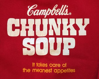 Vintage Campbells Chunky Soup Crew Neck Sweatshirt
