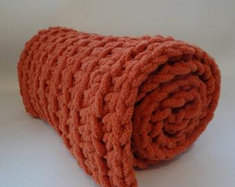 Crochet Cat Mat/Blanket- PUMPKIN SPICE