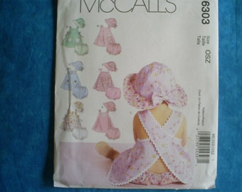 McCall's 6303 Size Sm-Med-Lg-XLg Summer Outfit.
