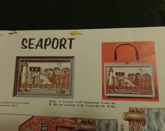 Paint N Paste Patterns by Jean Seaport Carousel Crafts for Box Purse