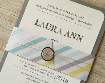 Always Meant to Be Wedding Invitation