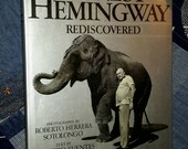 Book Hemingway Rediscovered Silver Coffee Table Focal Object Classic Modern Decor Finishing Touch Photography Pictorial Find