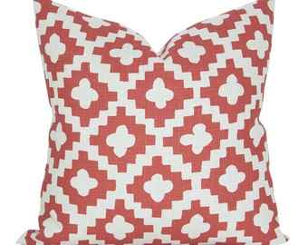 Peterazzi pillow cover in Red