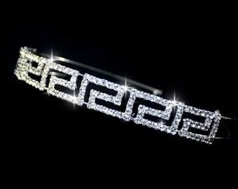 Rhinestone Headband Tiara Crown