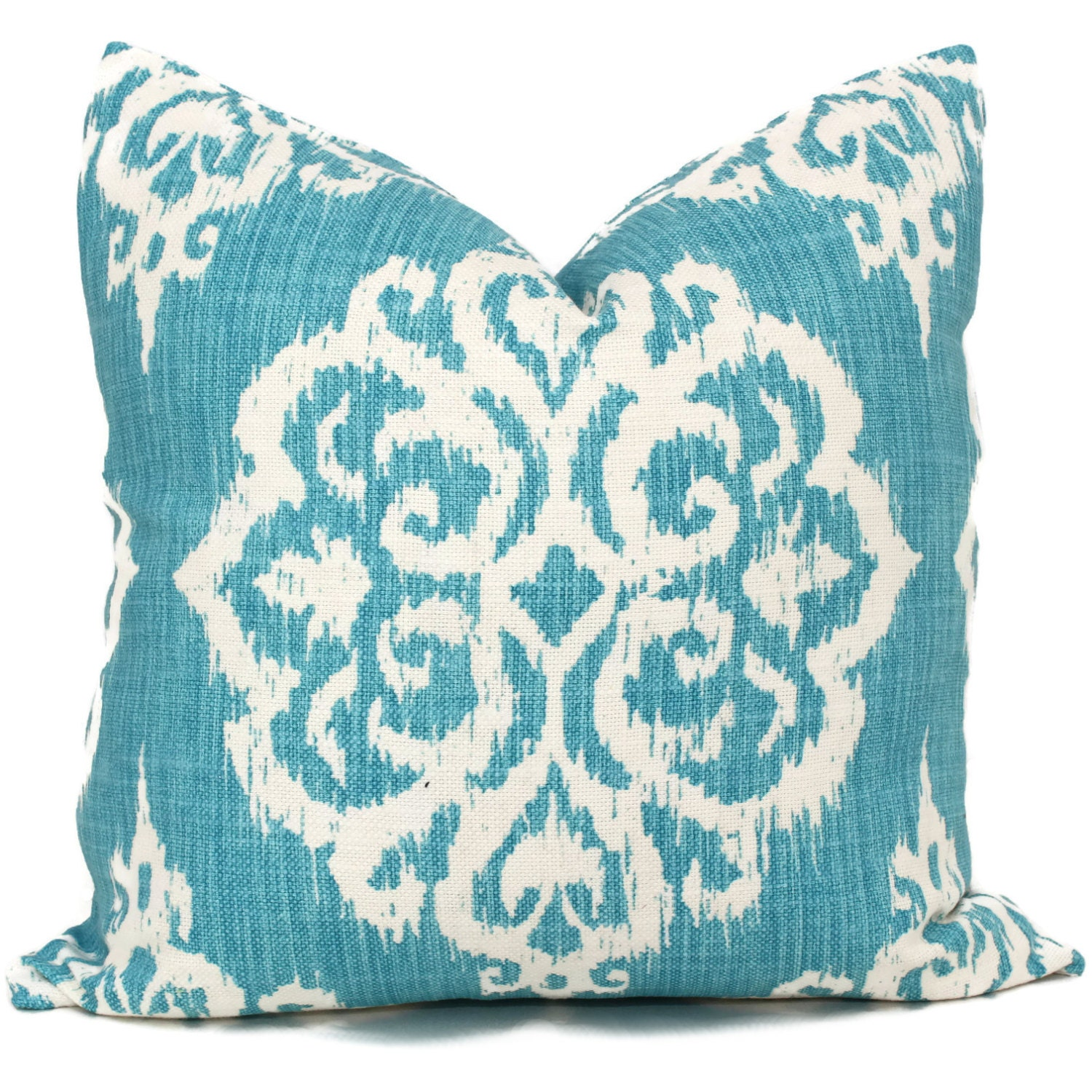 22x22 Decorative Pillows : Turquoise Suzani Decorative Pillow Cover 18x18 20x20 22x22