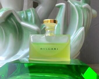 """Vintage 1980s Perfume for women """"BVLGARI Pour Femme"""" by Bvlgari Parfums. Eau de Parfum 5 ml Miniature Mini Travel size Bottle Collectible"""