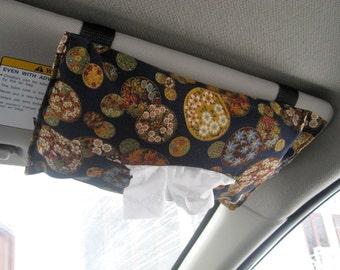 Car Visor Tissue Holder - Autumn whisper - ready to ship
